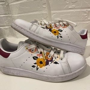 ADIDAS HER Studio Stan Smith Floral Womens Shoes